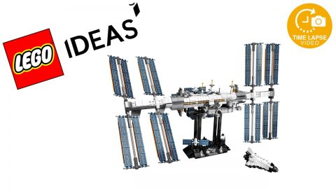 Lego #21321 ISS Timelapse (Ideas)