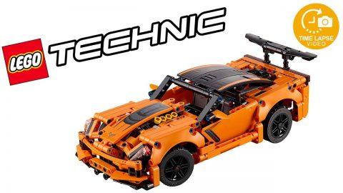 Lego #42093 Chevrolet Corvette ZR1 Technic Timelapse