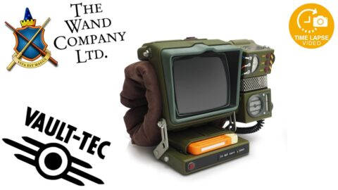 Fallout Vault-Tec Pip-boy Full Scale Model Build Timelapse