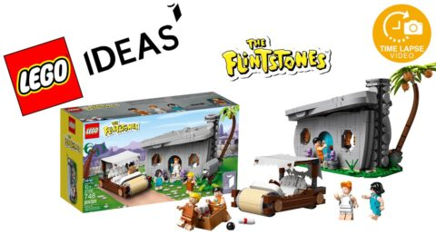 Lego #21316 The Flintstones Timelapse (Ideas)